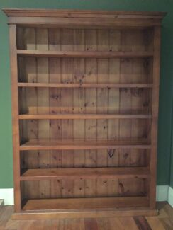 Timber Bookshelf McGraths Hill Hawkesbury Area Preview