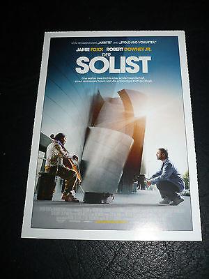 The Soloist  Film Card  Jamie Foxx  Robert Downey Jr