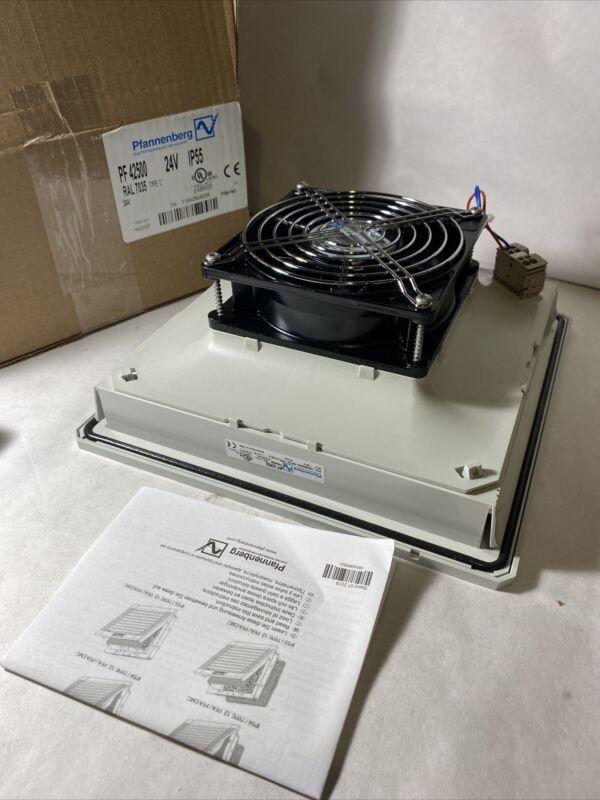 Pfannenberg pf 42500 Cabinet Enclosure Filter Fan, Type 12, 24v brand New