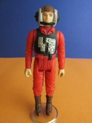 vintage star wars B WING FIGHTER PILOT ACTION FIGURE original KENNER rotj 85L