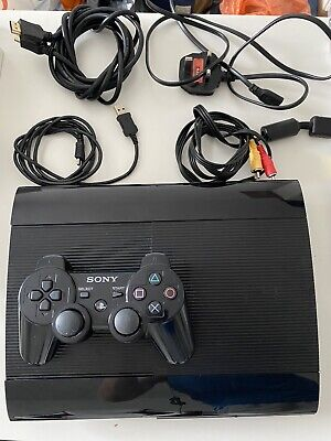 Sony PlayStation 3 Slim Console - Charcoal Black