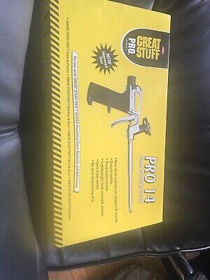 Pro 14 Foam Dispensing Gun Non-stick Coated Insulation Accessories Hand Tool New