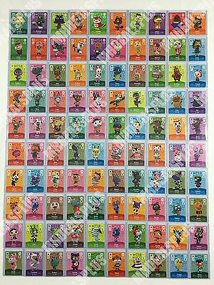 NEW Animal Crossing Amiibo Cards - Series 4 (#301-400) [US Version] PICK CARDS