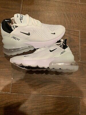 Brand New Women's Nike AIR MAX 270 Running Shoes White Size 8