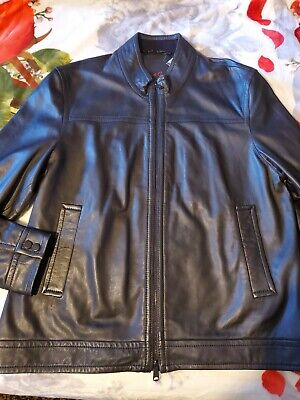 Robert Graham Genuine Leather Jacket for sale  Shipping to India