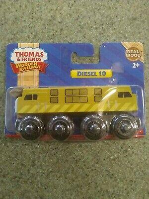 Diesel 10 (Y4076) Thomas & Friends Tank The Train Engine Wooden Railway NEW!