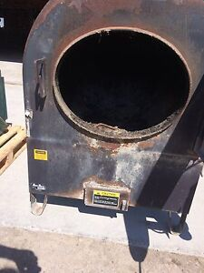 Outdoor wood furnace and oil fired boiler