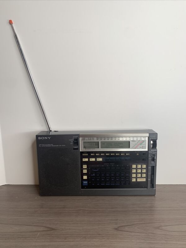 Sony ICF-2010 RADIO, AIR/FM/LW/MW/SW receiver *READ*