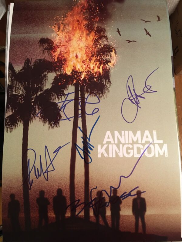 ANIMAL KINGDOM SIGNED 12X18 PHOTO! ELLEN BARKIN SCOTT SPEEDMAN AUTOGRAPH!