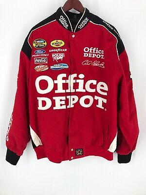 Office Depot Racing Mens Coat 2XL Red 99 Carl Edwards Red Coat Depot