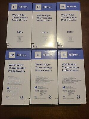 Case Of 7500 Welch Allyn Hillrom Thermometer Probe Covers Ref 05031