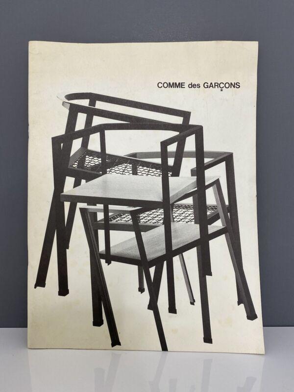 Comme Des Garcons Catalouge Mid century modern catalogue RARE price sheet