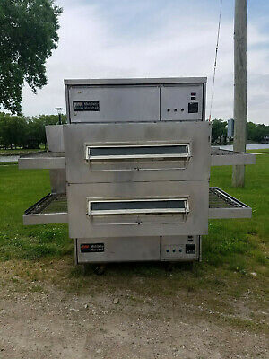 Middleby Marshall Ps360 Wb Double Stack Pizza Oven Split Conveyor Nat Gas Tested