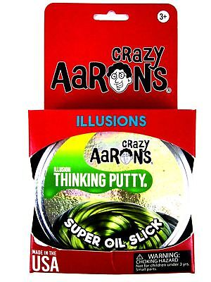 Super Oil Slick Super Illusions Crazy Aarons Thinking Putty Large 4 Inch 3 2 Oz