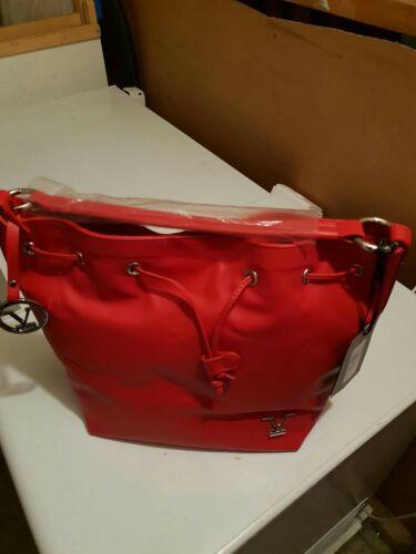 19V69 Versace Damen Handtasche Rot