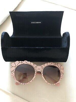 DOLCE & GABBANA Floral Cat Eye Sunglasses Mama's Brocade