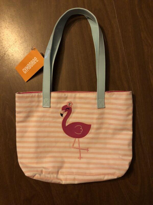 NEW Girls Gymboree Flamingo Tote Bag