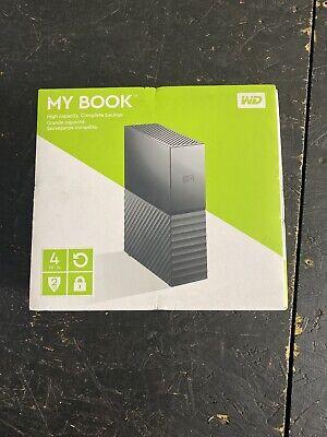 WD My Book 4TB External Hard Drive by Western Digital 3 year limited warranty