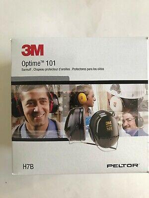 3m Peltor Optime 101 Earmuffs H7b Behind-the-head