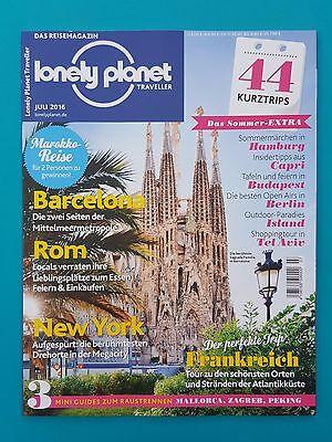 Lonely Planet Traveller Das Reisemagazin Juli 2016  ungelesen abs.TOP