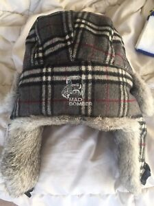 Mad Bomber Real Rabbit Fur Winter Hat