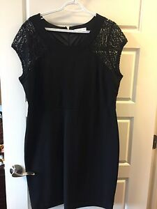 PRETTY BLACK DRESS - XXL