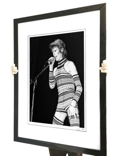 David Bowie Ziggy Stardust Fine Art Large Framed Limited Edition Fine Art Photo