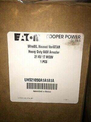 New Cooper Ultrasil Varistar 21 Kv Surge Arrester Heavy Duty 17 Mcov Lightning