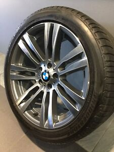 """BMW X5 M SPORT 20"""" STG GENUINE ALLOY WHEELS AND TYRES Carramar Fairfield Area Preview"""