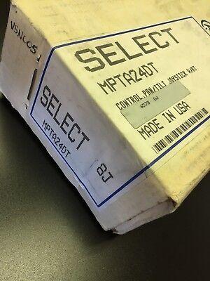 Pelco Cctv Camera Pan - Tilt Controller Joystick Wat Mpta24dt New In Box