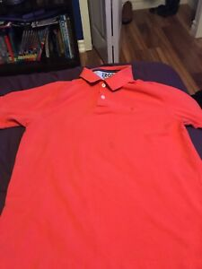 IZOD heritage polo dress/golf shirt Orange medium