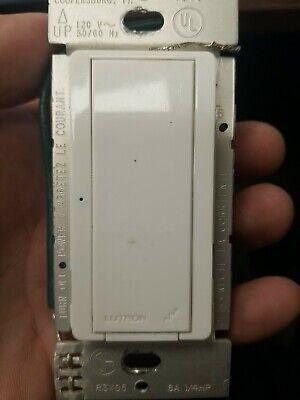 Lutron RRD-8ANS-WH Radio RA2 Switch Used