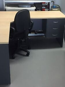 Corner desk with chair and drawers Alexandra Headland Maroochydore Area Preview