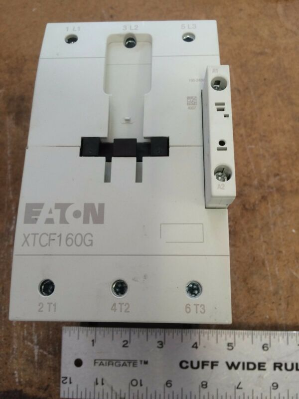 NEW OLD EATON XTCF160G CORPORATION CONTACTOR XTCF160G00A ,EC