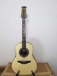 Ovation 1759 Custom Legend 12 string guitar