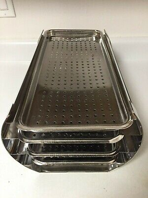 Complete Tuttnauer Rack And Trays Four Trays And Rack - Autoclave