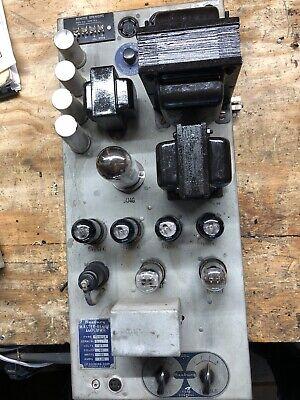 Seeburg Jukebox MRA1 Jukebox Amplifier Rebuilt - used in Seeburg 100A, 100B/BL