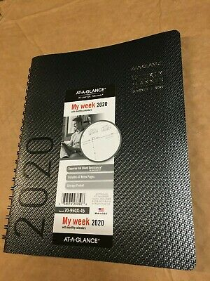 At-a-glance 2020 Weekly Two Page Week Planner Calendar New Year 70-950x-45 Black