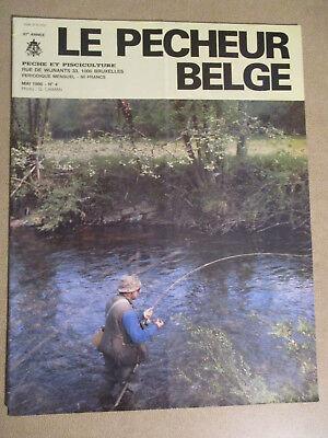 LE PECHEUR BELGE: N°4: MAI 1986: PECHE ET PISCICULTURE