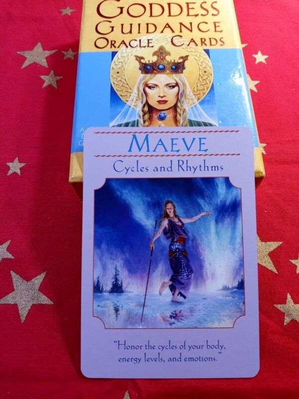 Maeve - Single Card Replacement - Authentic Goddess Guidance Doreen Virtue
