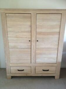 Elm Wood Armoire Spring Hill Brisbane North East Preview