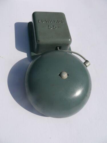 "Vintage Edwards 55 Series Signaling Bell 4"" Dia. 24V-60HZ"