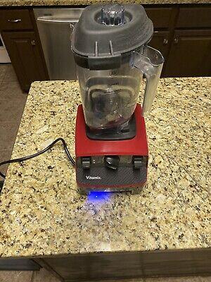 Vitamix Red 062825 Drink Machine Advance 48 Ounce Bar Blender