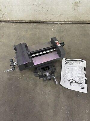 New Dayton 8 Milling Machine Vise X Y Table 3w766j Cross Slide Drill Press