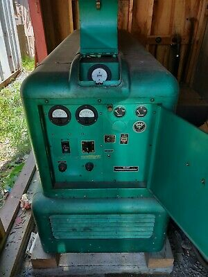 1955 Electric Onan 12.5kv 1-3 Phase 4c Gas Standby Generator With Tank