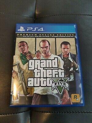 Grand Theft Auto V Premium Online Edition (PlayStation 4)