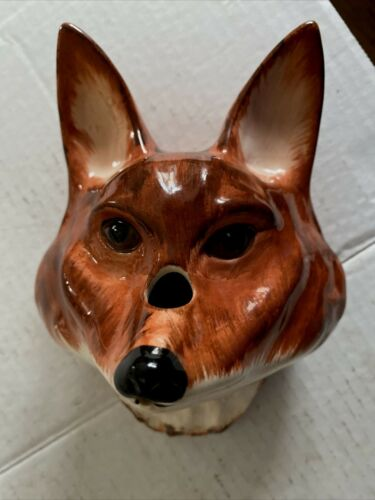 BABBACOMBE Pottery FOX String Scissor Holder by Philip Laureston England Sewing