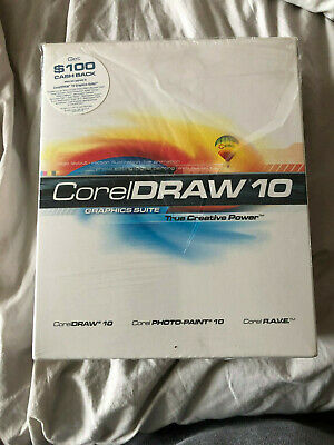 Corel Draw 10 Graphics Suite (Retail) (1 User) - Full Version for Windows 10ENGO