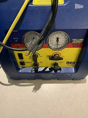 Yellow Jacket Recoverxlt Refrigerant Recovery Machine