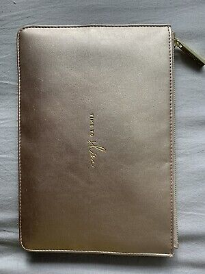 Katie Loxton Rose Gold Time to Shine Perfect Pouch Clutch Bag Handbag BN